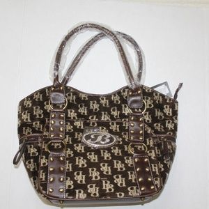 Brentano Purse Hand Bag Style BB6110FU Brown